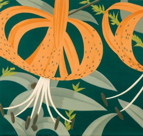 ALEX KATZ Superb Lilies, 1972