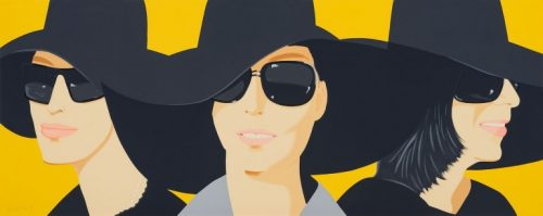 ALEX KATZ Black Hats IV, 2012