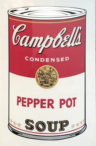 ANDY WARHOL Campbell's Soup I- Pepper Pot Soup (FS II.51), 1968
