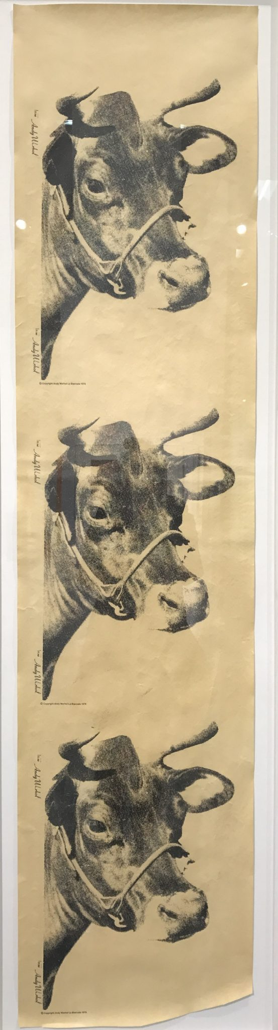 ANDY WARHOL Cow (Wallpaper La Bienale), 1976