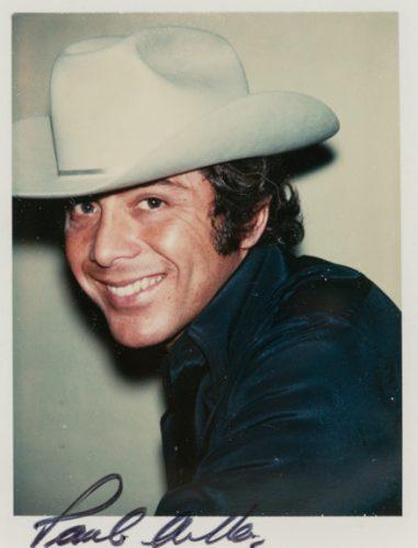 ANDY WARHOL Paul Anka, 1975