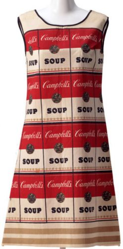 ANDY WARHOL The Souper Dress, 1965
