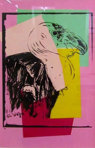 ANDY WARHOL Vanishing Animals – California Condor, 1986