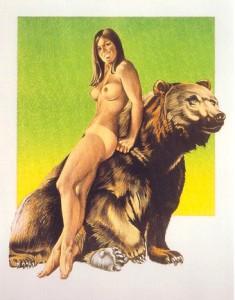 mel_ramos_Browned_Bare_1970