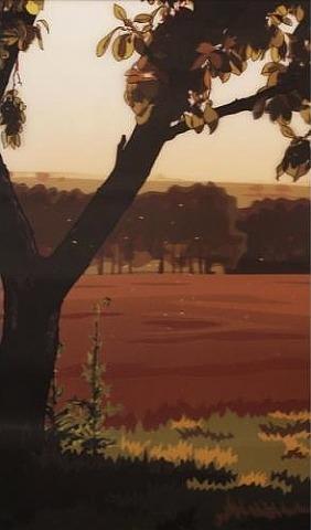 julian opie Evening Sun, 2013