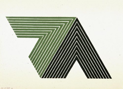 FRANK STELLA Ifafa II (from the V Series), 1968