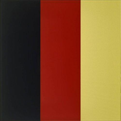 GERHARD RICHTER Schwarz - Rot - Gold IV, 2015