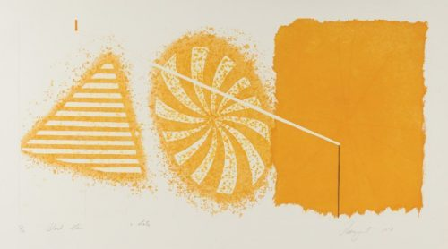 JAMES ROSENQUIST Black Star 2nd State, 1978