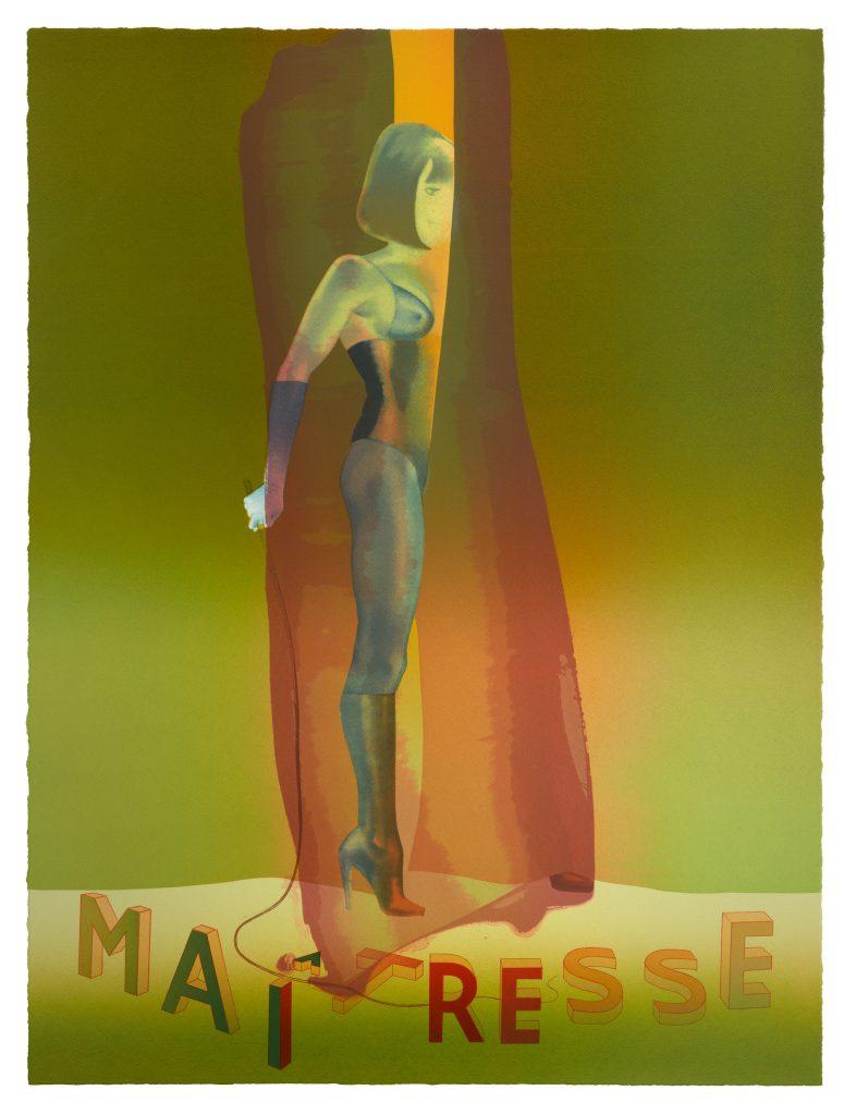 ALLEN JONES Maitresse Folio Screenprint , 2015/2016