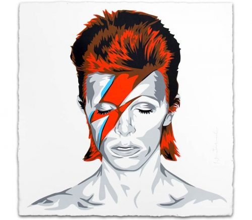 MR. BRAINWASH David Bowie, 2016