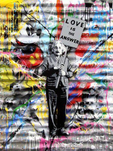 MR. BRAINWASH Einstein, 2016
