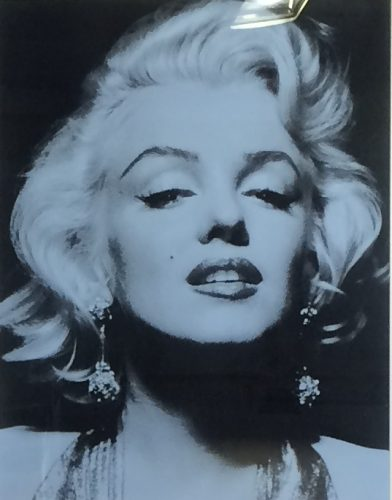 Russell Young Marilyn Portrait, 2014