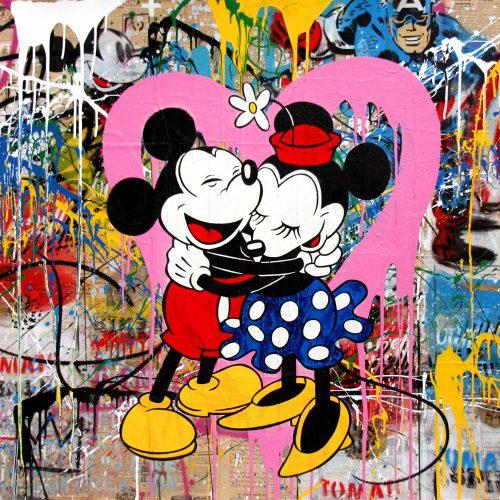 MR. BRAINWASH Mickey & Minnie, 2017