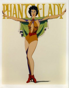 mel_ramos_Phantom_Lady_1989