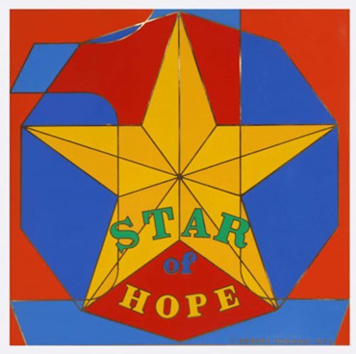 ROBERT INDIANA Star of Hope, 1972
