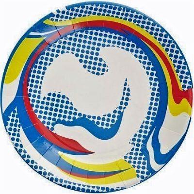 ROY LICHTENSTEIN Paper Plate, 1969