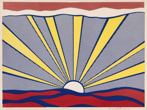 ROY LICHTENSTEIN Sunrise, 1965
