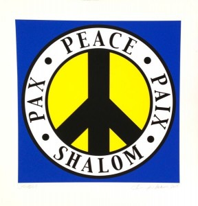 Paix Peace Pax Shalom Zeichen