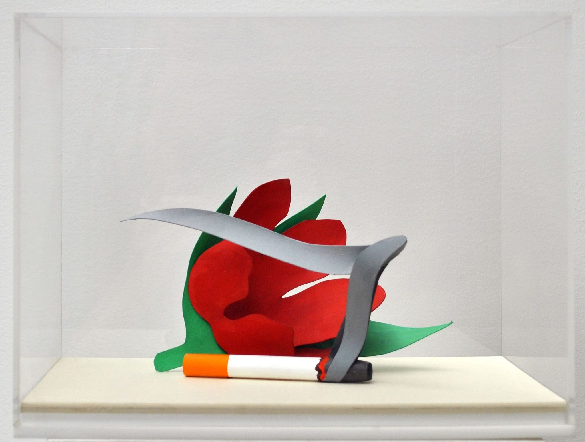 TOM WESSELMANN Maquette for Tukip and Smoking Cigarette, 1981