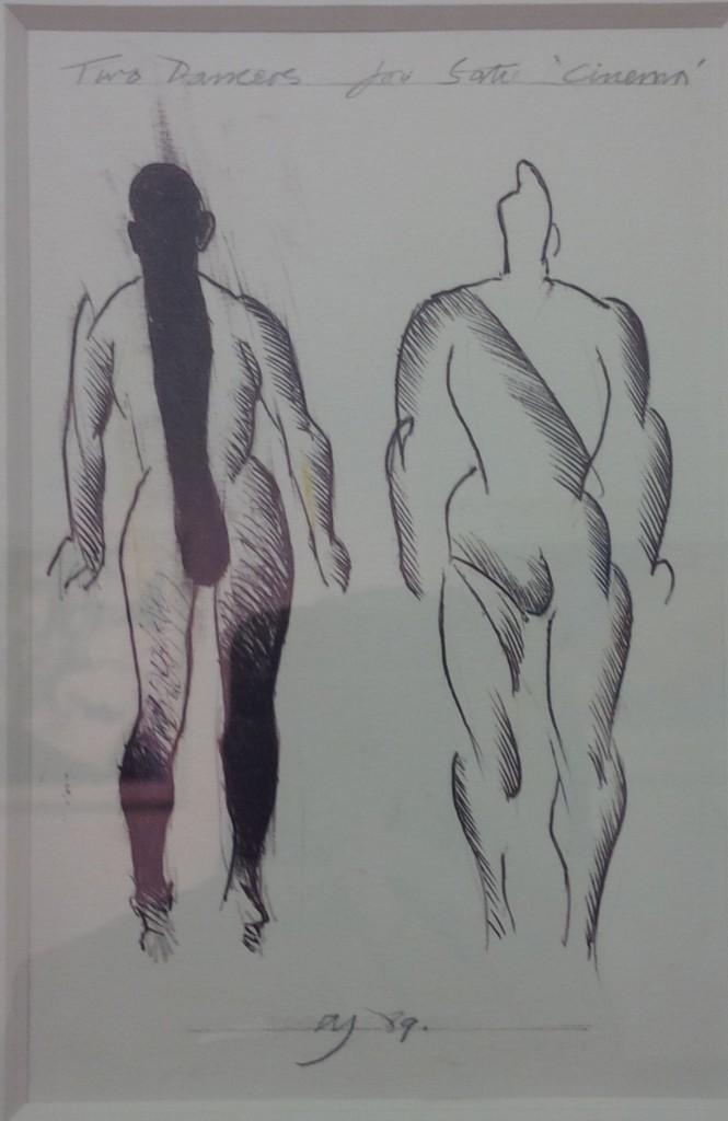 Allen_Jones_Two_Dancers_for_Satie_Cinema_1989
