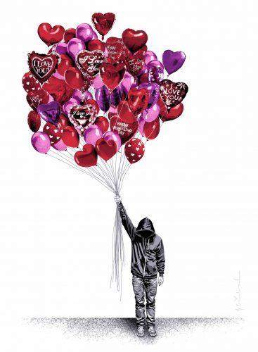 MR. BRAINWASH Love is in the Air, 2015