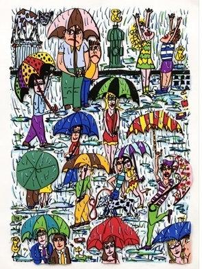 JAMES RIZZI Rain, 1989