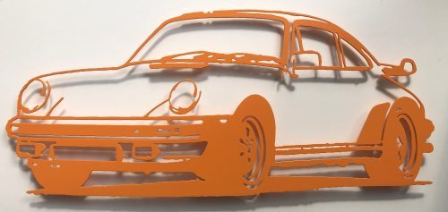 JAN M. PETERSEN Porsche 911 (Orange), 2018