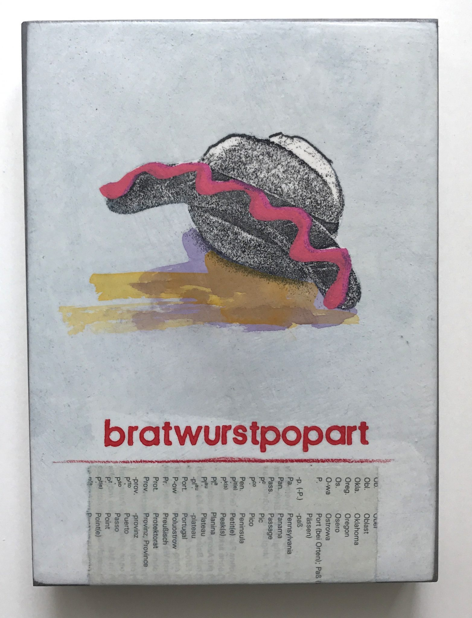 Jan M. Petersen-bratwurstpopart, 2017