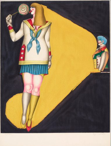 RICHARD LINDNER Lollipop, 1971