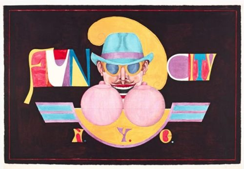 Richard Lindner Fun City 1971