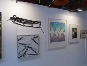 Exponate der Kunstausstellung Art.Sylt 2016