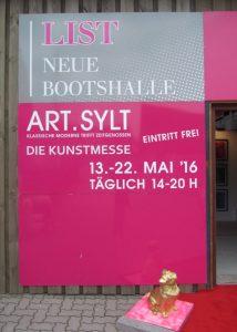 Plakat der Kunstmesse Art.Sylt