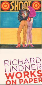 RICHARD LINDNER Works on Paper Plakat