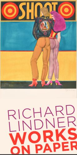 RICHARD LINDNER WORKS ON PAPER