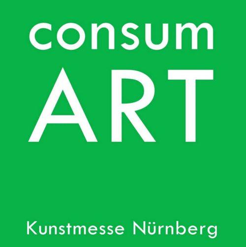 Logo der Consum Art Kunstmesse in Nürnberg