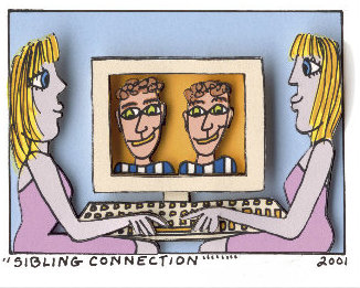 JAMES RIZZI Sibling Connection, 2001