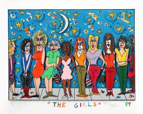 JAMES RIZZI The Girls