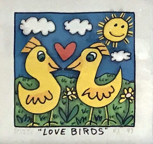 JAMES RIZZI LOVE BIRDS, 1997
