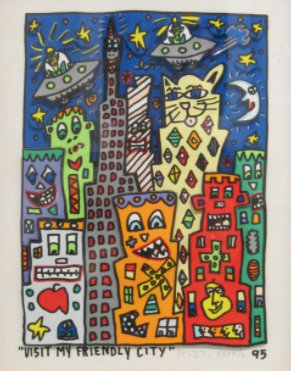 JAMES RIZZI VISIT MY FRIENDLY CITY, 1995