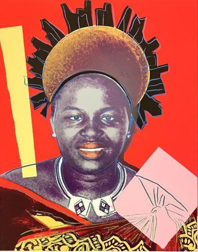 ANDY WARHOL Queen Ntombi Twala of Swaziland from: Reigning Queens, 1985