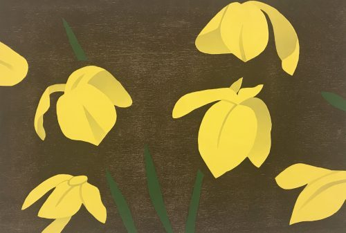 ALEX KATZ Yellow Flags, 2013