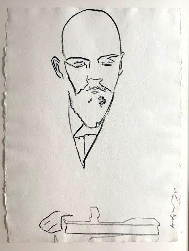 ANDY WARHOL Lenin, 1986-87