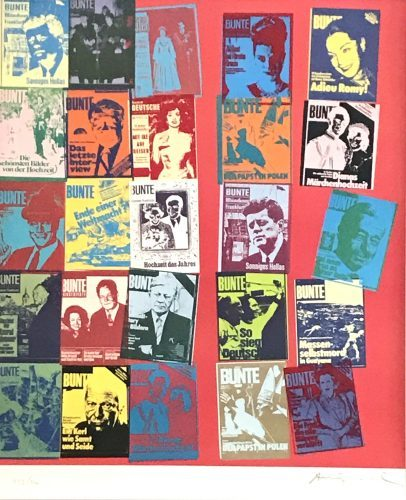 ANDY WARHOL Magazine and History, 1983