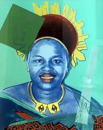 ANDY_WARHOL_Reigning_Queens_Queen_Ntombi_Twala_of_Swaziland_1985