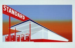 Bild einer Tankstelle