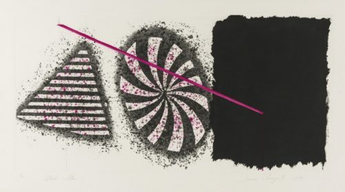 JAMES ROSENQUIST Black Star, 1978