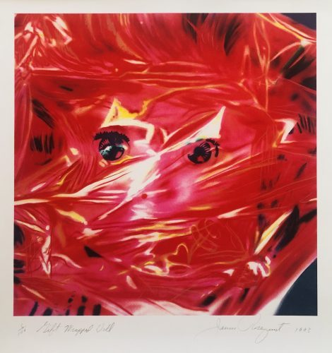 JAMES ROSENQUIST Gift Wrapped Doll, 1993