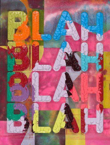 MEL BOCHNER BLAH BLAH