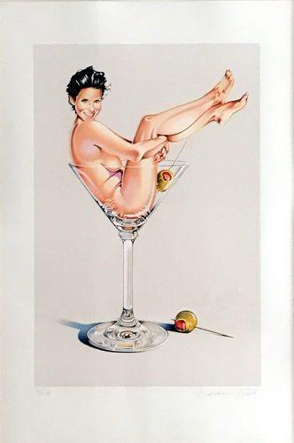 MEL RAMOS Martini Miss #2, 2004