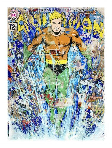 MR. BRAINWASH Aquaman, 2018